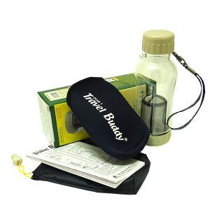 茶漉し付きエコボトル(Travel Buddy/トラベルバディ)PC-301 保温カバーセット|kissyoumon