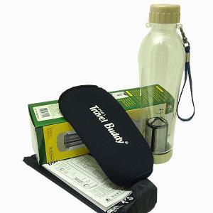 茶漉し付きエコボトル(Travel Buddy/トラベルバディ)PC-701 保温カバーセット|kissyoumon