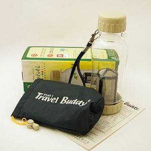 茶漉し付きエコボトル(Travel Buddy/トラベルバディ)PC-301 小サイズ 370cc|kissyoumon