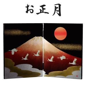 屏風 日本の歳時 お正月|kisyukirakuya