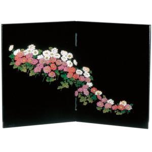 木製 姫屏風 万葉菊|kisyukirakuya