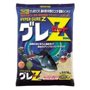 ハイパーグレZ 釣り餌 配合餌 グレ用集魚材 クロ ヒロキュー|kita9kiji