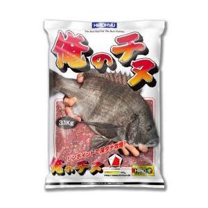 俺のチヌ 8袋入り1ケース 釣り餌 チヌ用配合餌 ヒロキュー 送料無料 kita9kiji