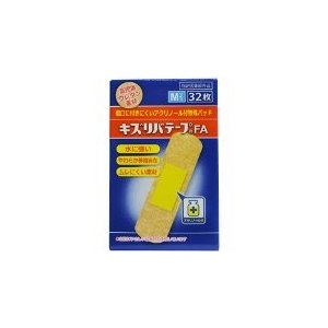 キズリバテープ ウレタンタイプ FA M32枚|kitabadrug-cosme