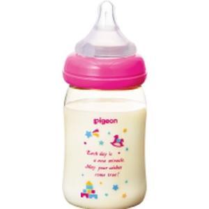 母乳実感ほ乳びん プラ トイボックス柄 160ml|kitabadrug-cosme
