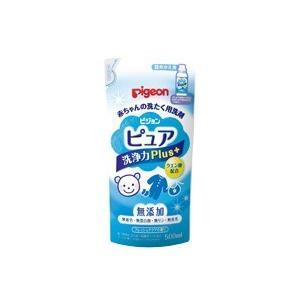赤ちゃんの洗たく用洗剤ピュア洗浄プラス替 500ml|kitabadrug-cosme
