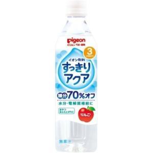 イオン飲料 すっきりアクア りんご 500ml|kitabadrug-cosme