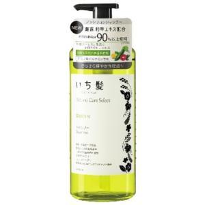 いち髪 ナチュラルケアセレクト スムースシャンプー ポンプ 480ml|kitabadrug-cosme