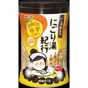 いい湯旅立ちボトル にごり湯紀行ゆずの香り 600g|kitabadrug-cosme