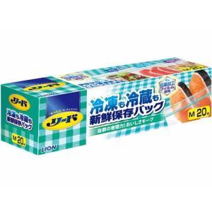 リード 冷凍も冷蔵も新鮮保存バッグ M 20枚 kitabadrug-cosme