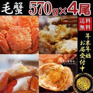 [かに 蟹]毛ガニ特大(毛蟹 数量限定 最高級 北海道産)5...