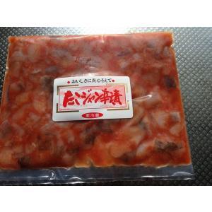 〔お買い得簡単パック〕たこジャン辛200g〔E〕北港直販☆蛸・タコ☆|kitachokuhan