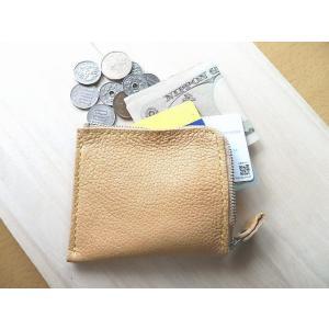 牛革コンパクト財布2色 ハーフウォレット L字ラウンド メンズ・レディース兼用|kitaebisu|07