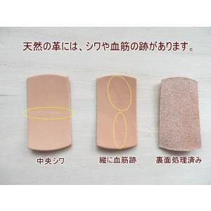 5cm丸型10枚無地/本ヌメ革タグでオリジナル名札・ネームプレート kitaebisu 06