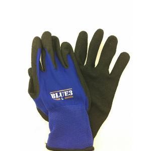 ブルースリー 極薄ニトリル背抜き手袋 富士手袋工業 Lサイズ|kitagawa-hardware