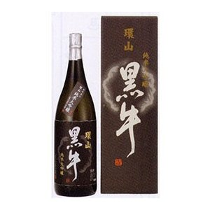 紀州の銘酒 環山黒牛 純米大吟醸 1800ml化粧箱入りZ-50|kitakatsu3
