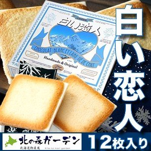 白い恋人 12枚入 石屋製菓 北海道お土産ギフト人気商品|kitanomori