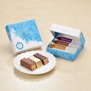 <送料込>石屋製菓 美冬ミルフィーユ 3個入×15箱セット 北海道お土産ギフト人気|kitanomori