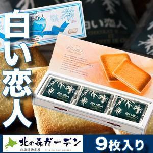 白い恋人 石屋製菓 9枚入 北海道お土産ギフト人気|kitanomori