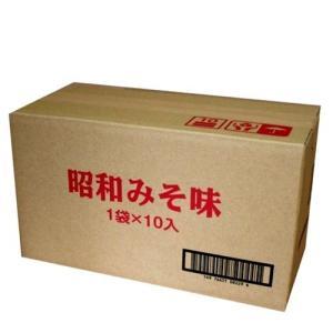 昭和40年みそラーメン  10食入り  《G》 北海道お土産ギフト人気(dk-2 dk-3)|kitanomori