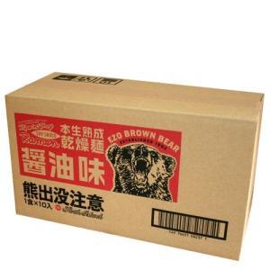 『熊出没注意』醤油味ラーメン 1ケース10個入  《G》 北海道お土産人気(dk-2 dk-3)|kitanomori