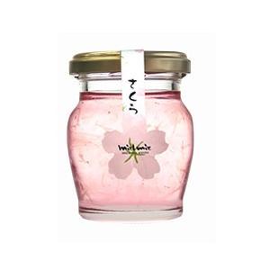 桜(さくら)花びら入蜂蜜110g  北海道お土産ギフト(dk...