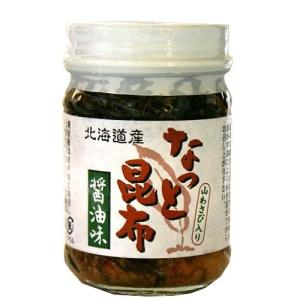 山わさび入り なっと昆布 醤油味 110g 瓶(dk-1 dk-2 dk-3)|kitanomori