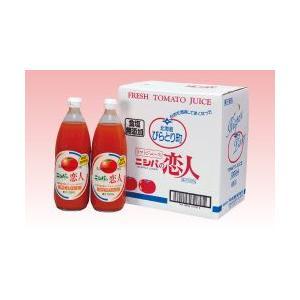 ニシパの恋人 無塩トマトジュース1箱(1L×6本) 北海道お土産ギフト人気(dk-2 dk-3)|kitanomori