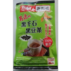 【送料込 ゆうパケット便】男達の黒千石黒豆茶(10g×8) 1袋 北海道お土産|kitanomori