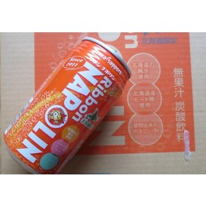 リボンナポリン 340ml×24本セット 北海道限定 ご当地飲料 お取り寄せ |kitanouogashi02