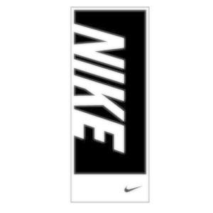 ナイキ(NIKE) スポーツタオル TW2518 036ブラック 汗ふき メール便サイズにして発送 ...
