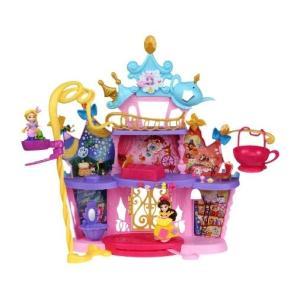 【セット商品】 (1)エレベーターのある大きなダンスキャッスル (2)アリエルの海のお城  タカラトミー ディズニー プリンセス リトルキングダム |kitasuma-store