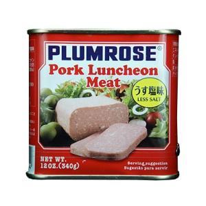 プラムローズ ポークランチョンミート うす塩味 輸入食品|kitchen-garden
