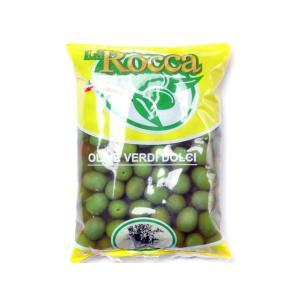 ラ・ロッカ グリーンオリーブ 小粒 500gクール便料金(税抜200円)が別途かかります。 輸入食品|kitchen-garden