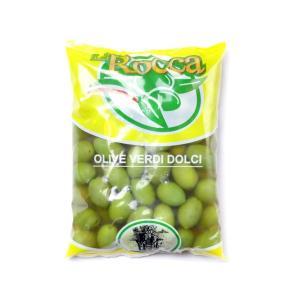 ラ・ロッカ グリーンオリーブ 大粒 500gクール便料金(税抜200円)が別途かかります。 輸入食品|kitchen-garden