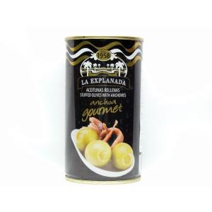 エクスプラナーダ アンチョビ入りオリーブ 輸入食品|kitchen-garden