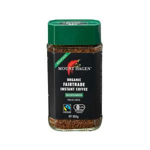 マウントハーゲン 有機カフェインレス インスタントコーヒー 100g 輸入食品