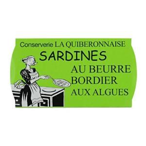 ラ ギブロネーズ ボルディエ海藻バターサーディン 輸入食品 kitchen-garden