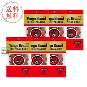 テング ビーフジャーキー レギュラー 100g 6袋セット|kitchen-garden