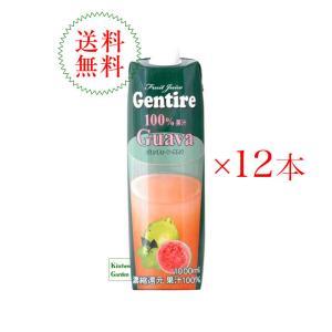 ジェンティーレ グァバジュース 1000ml1ケース(12本入り)1本あたり399円 輸入食品 kitchen-garden