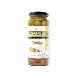 エスカミージャ グリーンオリーブ 祖母のレシピ(潰しオリーブ種あり) 輸入食品|kitchen-garden