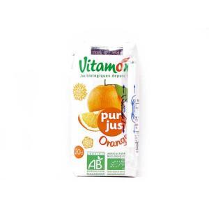 ヴィタモント 有機オレンジジュース(100%ストレートジュース) 朝食  輸入食品|kitchen-garden