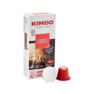 キンボ KIMBO カプセルコーヒー ナポリ 10カプセルネスプレッソ Nespresso®マシンの全機種に対応 輸入食品|kitchen-garden