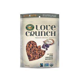ネイチャーズ パース ラブ クランチ 有機グラノーラ ダークチョコレート マカロン 朝食  輸入食品|kitchen-garden