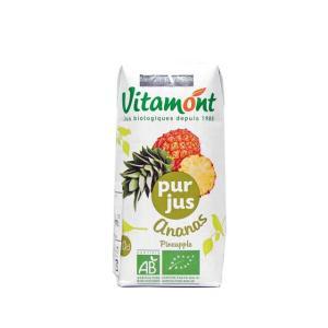 ヴィタモント 有機パインアップルジュース(100%ストレートジュース) 朝食  輸入食品|kitchen-garden