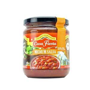 カサフィエスタ ミディアム チリサルサ サルサソース 輸入食品|kitchen-garden