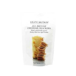 アーティザン グレイトブリテン チェダーチーズクラッカー 初秋食材 輸入食品|kitchen-garden