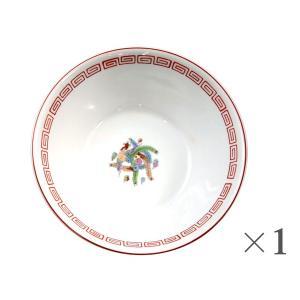 ラーメン鉢 赤 1個Ramen bowl 食器|kitchen-garden