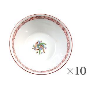 ラーメン鉢 赤 10個1個あたり638円Ramen bowl 食器|kitchen-garden