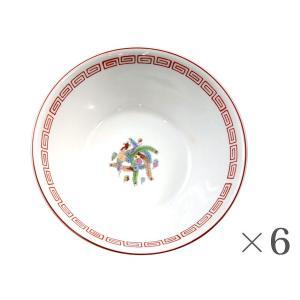 ラーメン鉢 赤 6個1個あたり702円Ramen bowl 食器|kitchen-garden